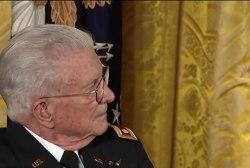 Obama awards medal of honor to Vietnam vet