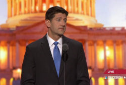 Ryan addresses Republican National Convention
