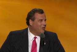Christie's 'triumphant return to center...