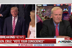 Matthews on Cruz speech: 'Bad behavior'