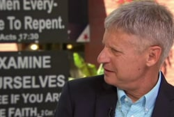 Gary Johnson trying to upend presidential...