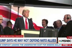 Trump's NATO shocker