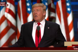 Did Trump reach beyond the base with speech?