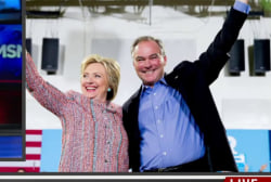 Hillary Clinton picks Sen. Tim Kaine for VP