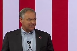 Clinton: Kaine has courage to stand up to NRA