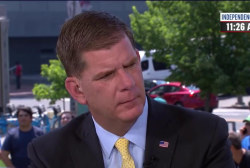 Boston mayor takes Trump to task