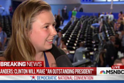 Sanders delegates reluctant to shift support
