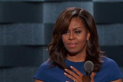 Michelle Obama delivers for Hillary Clinton
