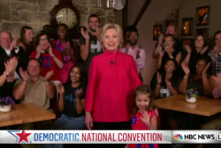 Hillary Clinton Delivers Message to Young...