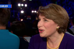 Sen. Klobuchar on party unity