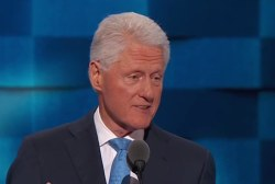 Bill Clinton also makes history at DNC