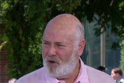 Rob Reiner: Running for president is not a...