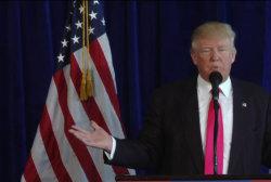Fact-checking Donald Trump's presser