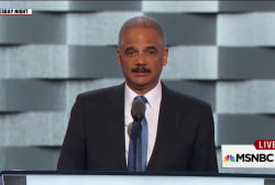 Holder: Russia comments 'disqualify' Trump