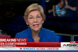 Sen. Warren: Trump would be a danger to US