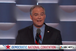 Kaine: 'You cannot believe' Trump