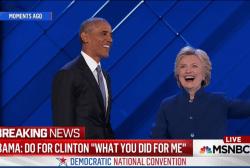 Obama speech 'priceless' for Clinton