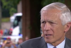 Wesley Clark sounds off on Trump remarks