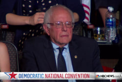 Hillary Clinton thanks Bernie Sanders
