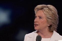 Clinton speech broadens party's reach