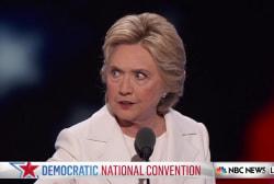 Clinton on unity and milestones