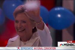 Clinton fulfills her political destiny