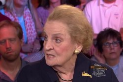 Albright: Donald Trump is just 'weird'