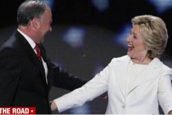 Clinton, Kaine to begin battleground bus tour