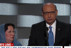 Trump staffer on soldier's father's speech