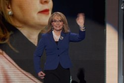 Giffords fighting for change at DNC