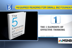 5 recommended business books to read this...