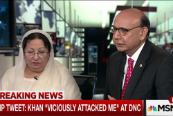 Mr. Khan: 'We are beyond' apology from Trump