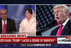 Khan family responds to Trump criticism