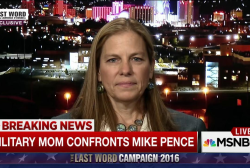 Military Mom on why she confronted Mike Pence