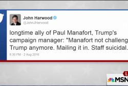 Source: Trump staff is 'suicidal'