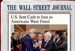 US sent $400M to Iran this year: WSJ report