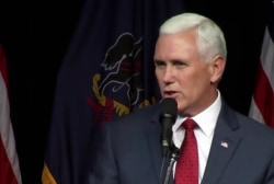 Pence splits with Trump, endorses Ryan