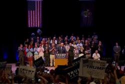 Trump's poll numbers drop