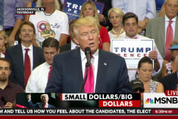 Trump gets surge from small-dollar donations
