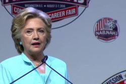 Can Clinton still build Americans' trust?