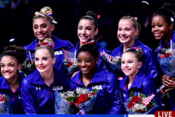 American women gymnasts 'flawless' in Rio