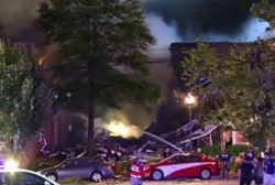 Apartment explosion leaves people missing