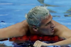 Ryan Lochte robbed at gunpoint in Rio