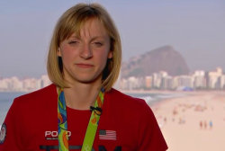 Katie Ledecky relives her 11 second victory