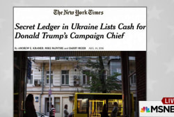 Manafort denies report of Ukrainian cash