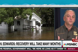 Louisiana struggles as tragic flood continues