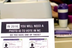 NC GOP seeks to limit early voting