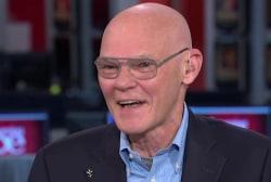 James Carville defends Clinton Foundation