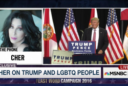 Cher on Trump's promise to LGBTQ community