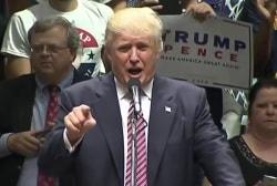 Trump Rallies in Dark Red States